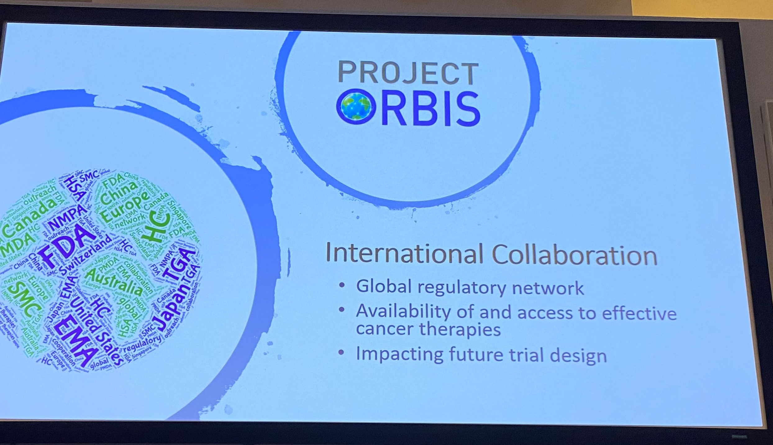 Project Orbis supports the global collaboration of cancer research endeavors.