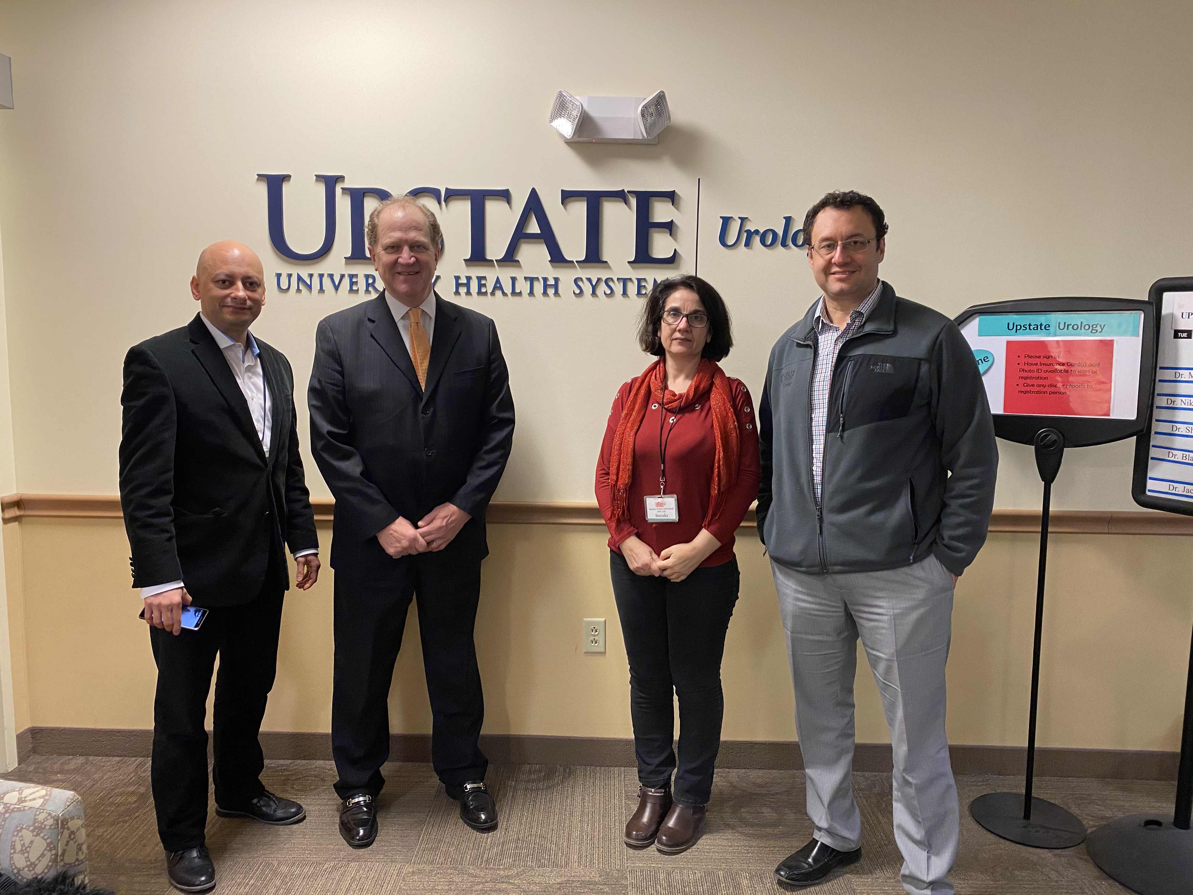 KidneyCAN visits SUNY Upstate Medical University to see first hand what research looks like