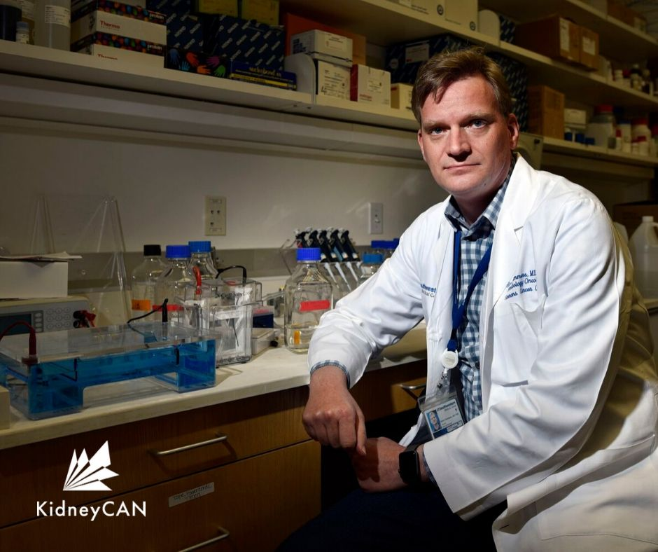Dr. Hans Hammers, associate professor of internal medicine and co-leader of the Kidney Cancer Program at UT Southwestern Harold C. Simmons Comprehensive Cancer Center. Photo by Ben Torres