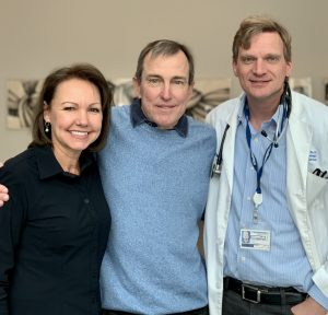 Ralph and Brenda Knapp with Dr. Hans Hammers