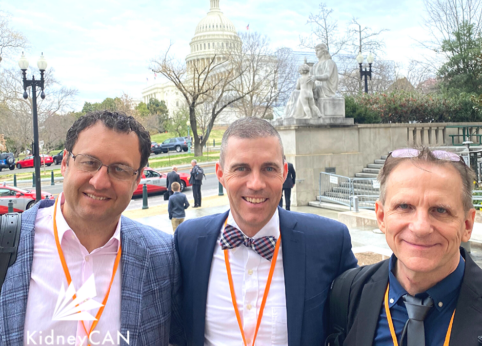 Raising Our Voices: KidneyCAN Advocates in Washington D.C.